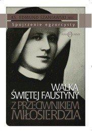Walka św. Faustyny z przeciwnikiem - okładka książki