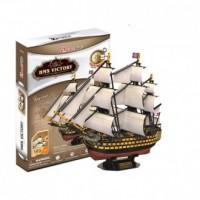 Żaglowiec HMS Victory (puzzle 3D) - zdjęcie zabawki, gry