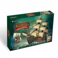 Żaglowiec San Felipe (puzzle 3D) - zdjęcie zabawki, gry