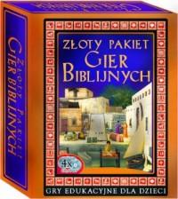 Złoty Pakiet Gier Biblijnych  (4 x CD DVD) - pudełko programu