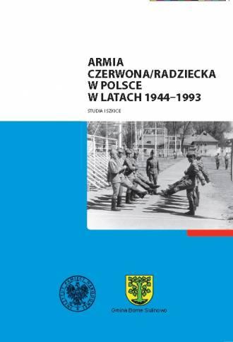 Armia Czerwona / Radziecka w Polsce - okładka książki