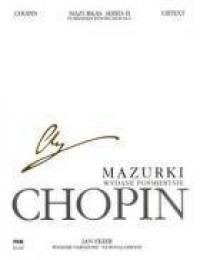 Chopin. Mazurki. Wydanie pośmiertne - okładka książki