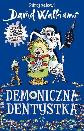 Demoniczna dentystka - okładka książki