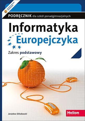 Informatyka Europejczyka. Szkoła - okładka podręcznika