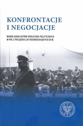 Konfrontacje i negocjacje. Wokół - okładka książki