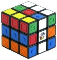 Kostka Rubika (3 x 3 x 3 dla niewidomych) - zdjęcie zabawki, gry