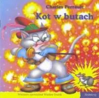 Kot w butach. 101 bajek - okładka książki