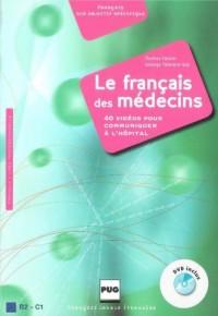 Le Francais des medecins (+ CD) - okładka podręcznika