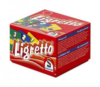 Ligretto w czerwonym pudełku - zdjęcie zabawki, gry