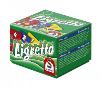 Ligretto w zielonym pudełku - zdjęcie zabawki, gry
