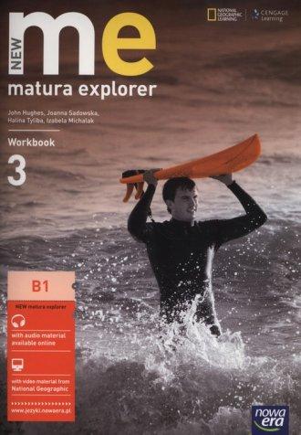 Matura Explorer New 3. Workbook - okładka podręcznika
