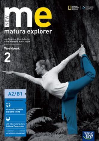New Matura Explorer 2. Workbook - okładka podręcznika