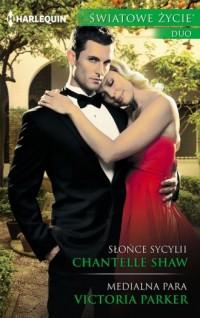 Słońce Sycylii / Medialna para. Seria: Światowe Życie Duo - okładka książki