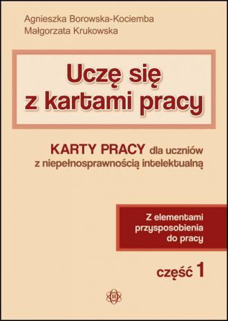 Uczę się z kartami pracy cz. 1. - okładka podręcznika