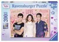 Violetta, Tom i Leon (puzzle XXL 200-elem.) - zdjęcie zabawki, gry