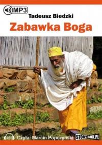 Zabawka Boga (mp3) - Tadeusz Biedzki - pudełko audiobooku
