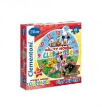 Zegar. Myszka Miki (puzzle 96-elem.) - zdjęcie zabawki, gry