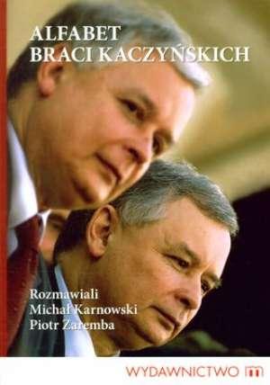 Alfabet braci Kaczyńskich - okładka książki