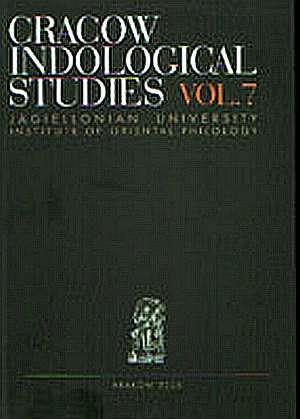 Cracow Indological Studies. Vol. - okładka książki