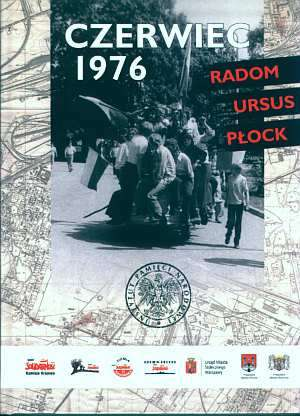 Czerwiec 1976. Radom - Ursus - - okładka książki