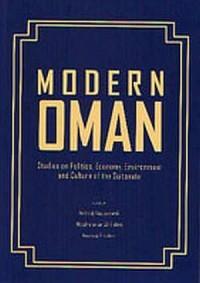 Modern Oman. Studies of Politics, Economy, Environment - okładka książki