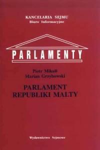 Parlament Republiki Malty. Seria: - okładka książki