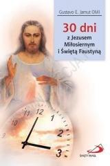 30 dni z Jezusem Miłosiernym i - okładka książki