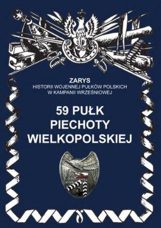 59 pułk piechoty wielkopolskiej. - okładka książki