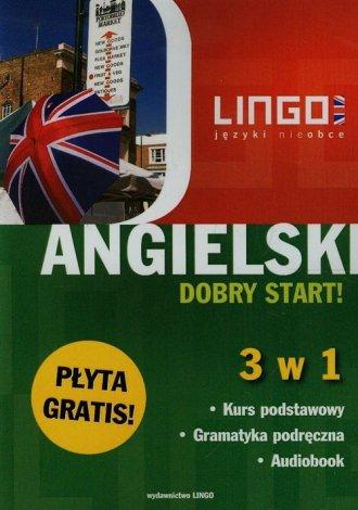 Angielski Dobry start 3 w 1 (+ - okładka podręcznika