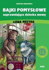 Bajki pomysłowe usprawniające dziecka - okładka książki