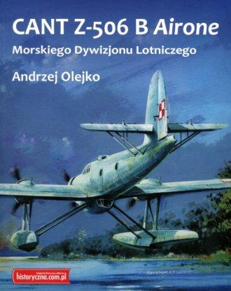 CANT Z-506 B Airone Morskiego Dywizjonu - okładka książki