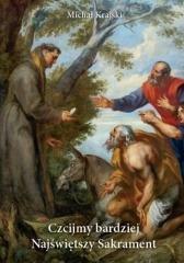 Czcijmy bardziej Najświętszy Sakrament - okładka książki