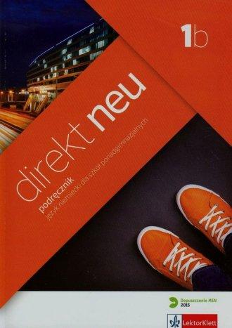 Direkt Neu 1B. Podręcznik (+ CD) - okładka podręcznika