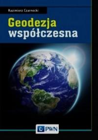 Geodezja współczesna - okładka książki