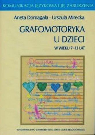 Grafomotoryka u dzieci w wieku - okładka książki