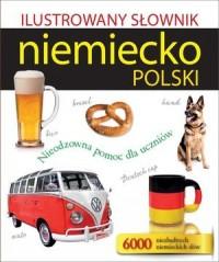 Ilustrowany słownik niemiecko-polski - okładka podręcznika