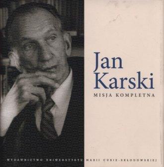 Jan Karski. Misja kompletna - okładka książki