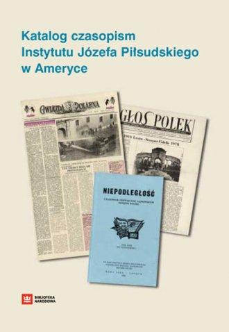 Katalog czasopism Instytutu Józefa - okładka książki