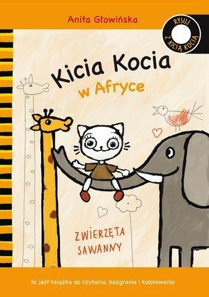 Kicia Kocia w Afryce - okładka książki