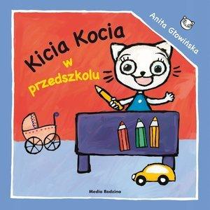 Kicia Kocia w przedszkolu - okładka książki