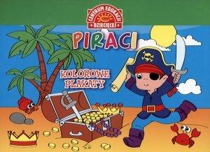 Kolorowe plakaty Piraci - okładka książki