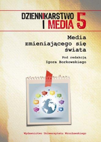 Dziennikarstwo i media 5. Media - okładka książki