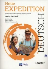 Neue Expedition Deutsch Starter. Zeszyt ćwiczeń - okładka podręcznika