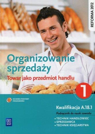Organizowanie sprzedaży. Towar - okładka podręcznika