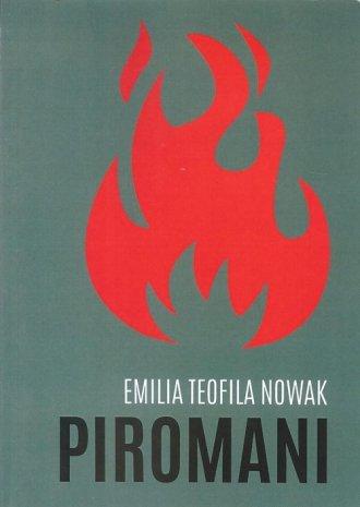 Piromani - okładka książki