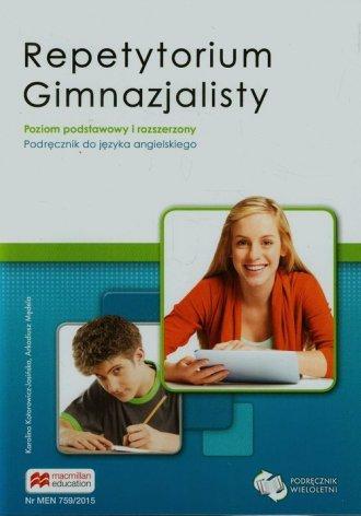 Repetytorium gimnazjalisty. Język - okładka podręcznika