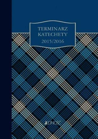Terminarz katechety 2015/2016 - okładka książki