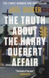 The Truth About The Harry Quebert Affair - okładka książki