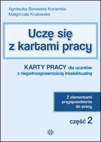Uczę się z kartami pracy cz. 2. - okładka podręcznika