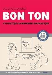 Uczniowski BON TON. Sytuacyjne - okładka podręcznika